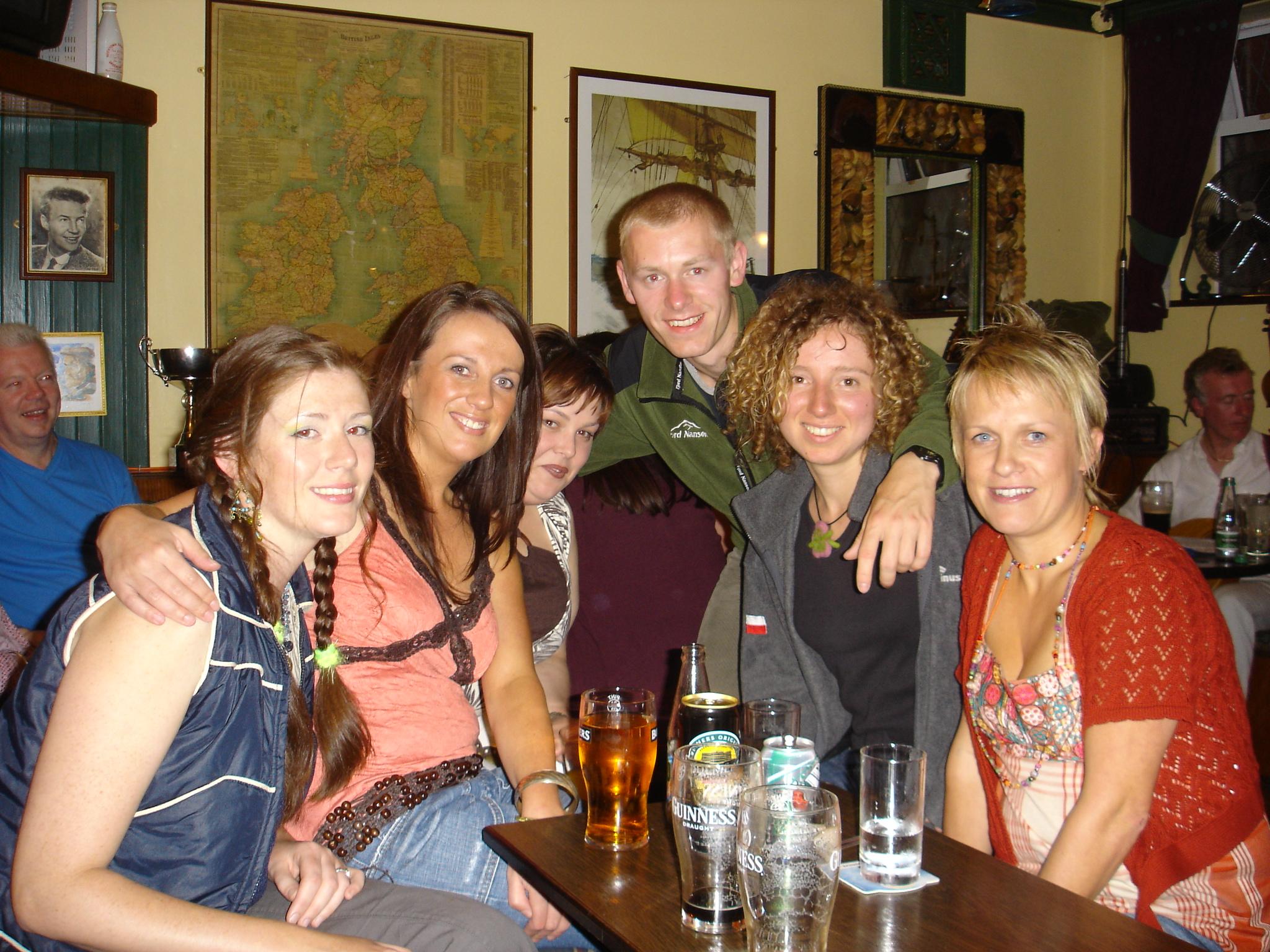 Spotkanie przy pierwszym Guinnessie