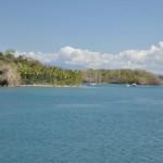 Dopływając do półwyspu Nicoya
