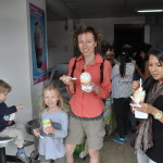 Wspólne lody z obywatelką Kostaryki