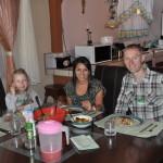 Obiadek w gościnie u Kostarykańskiej znajomej