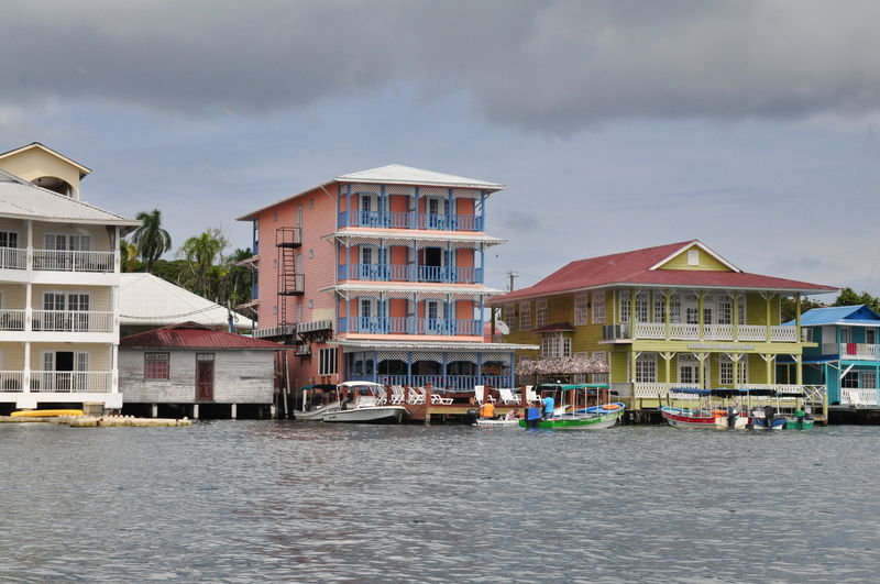 Dopływając do Bocas del Toro