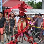 Diably karnawal w Bocas del Toro