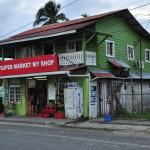 Market w Bocas del Toro