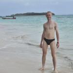 Michal na bezludnej wyspie Zapatilla
