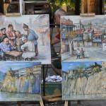 Obrazy w Tbilisi