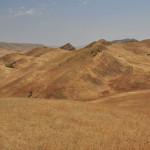 Widoki przy drodze do Dawid Garedża
