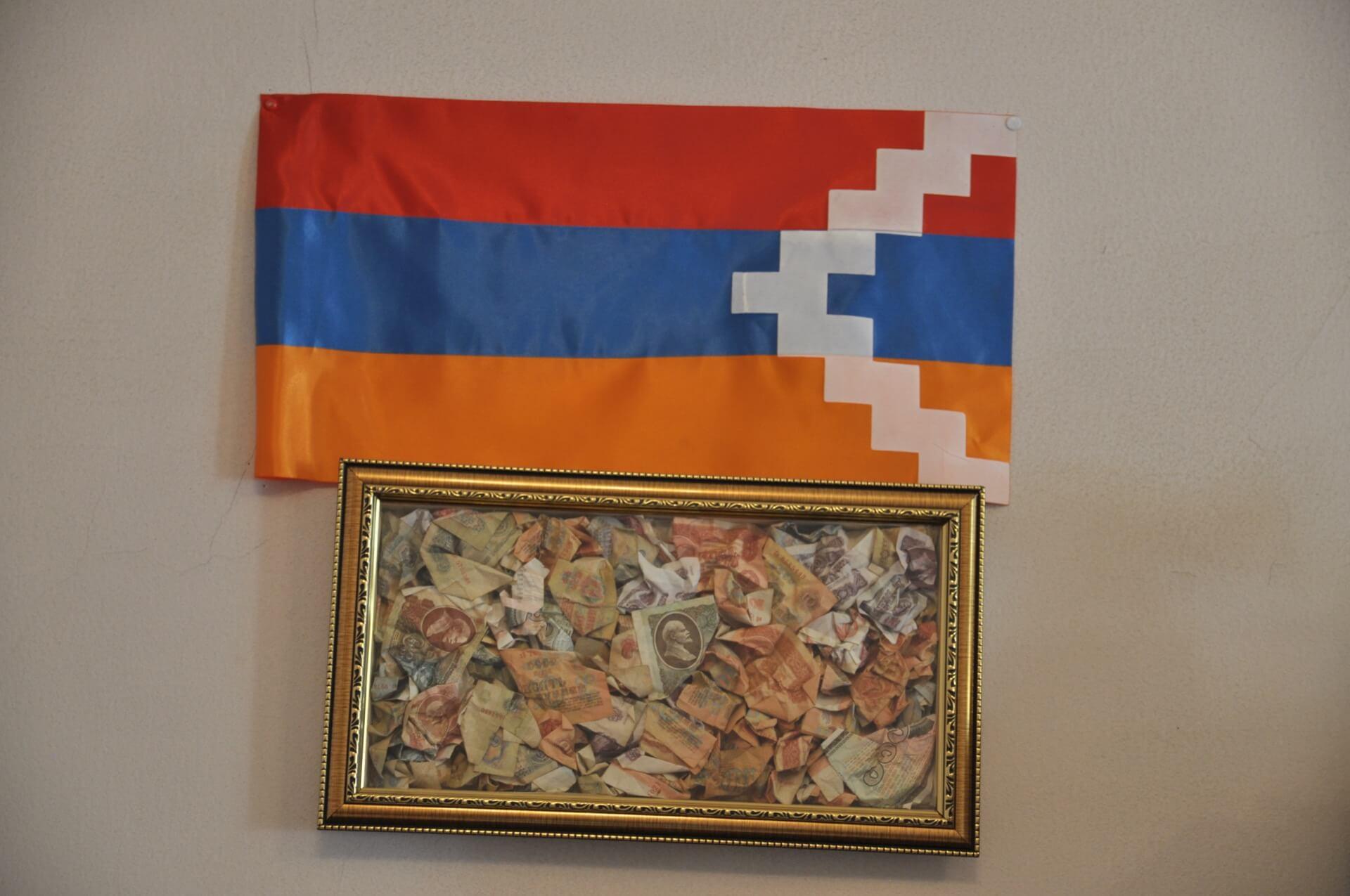Górski Karabach flaga