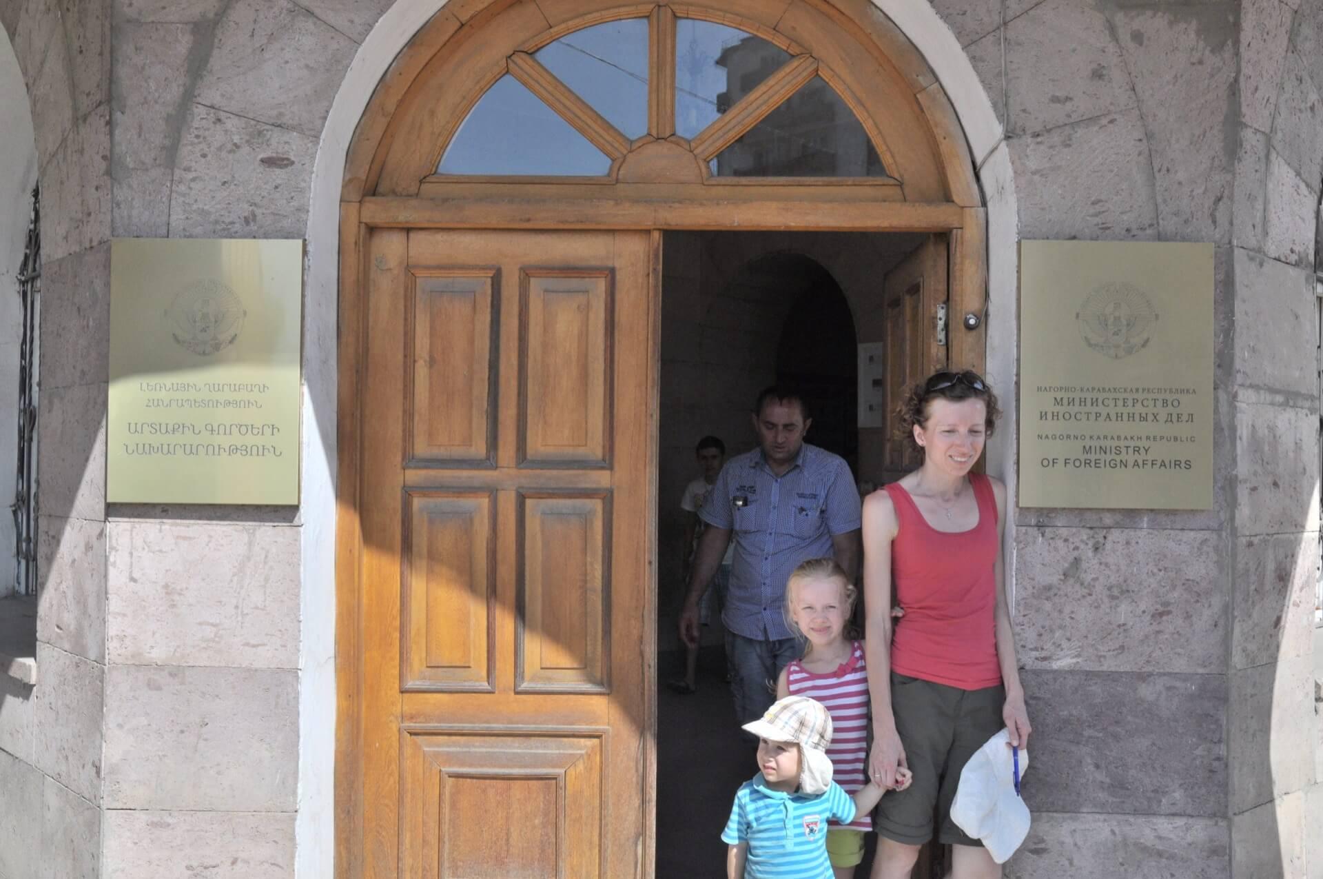 Górski Karabach formalności w urzędzie