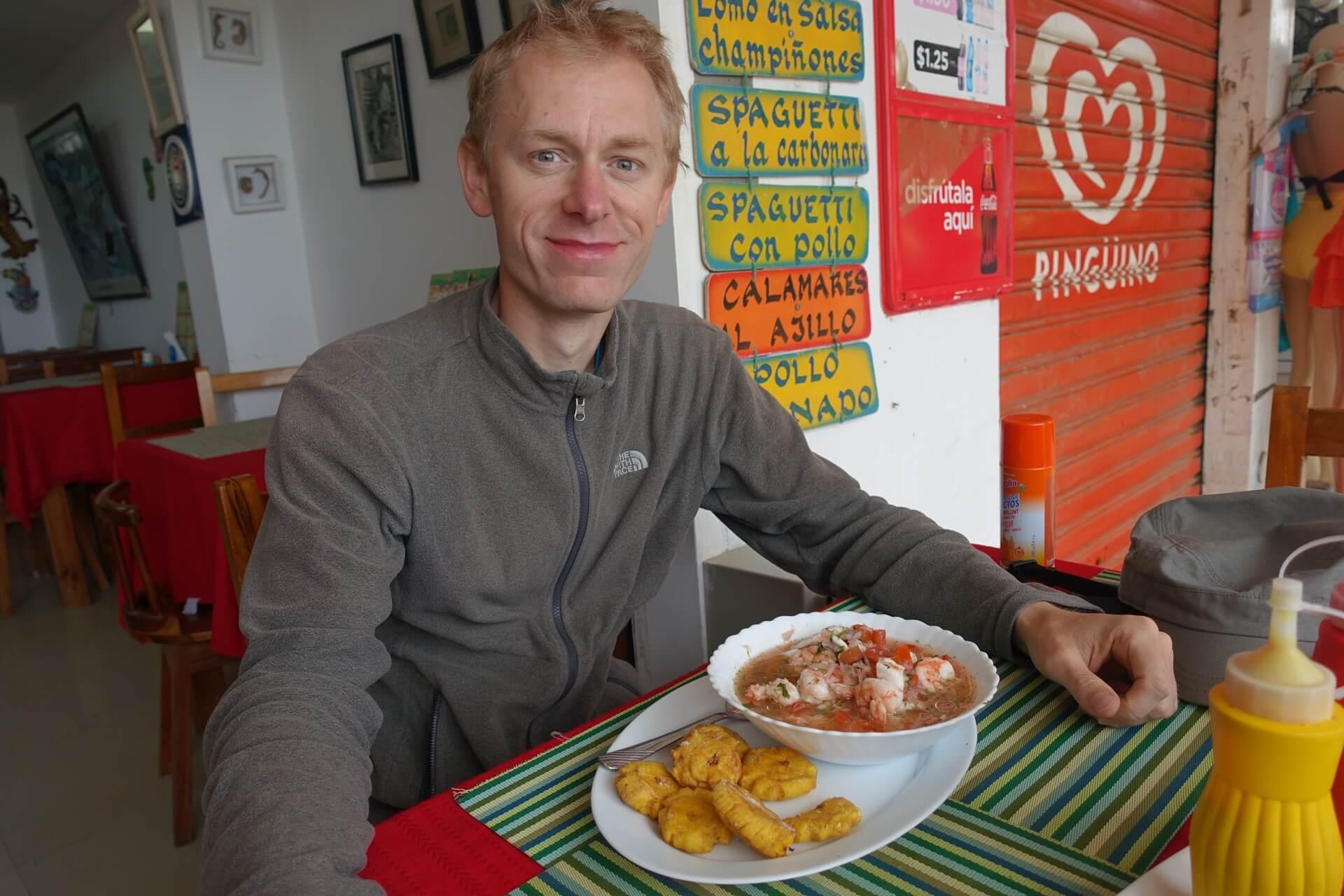 Michal i ekwadorskie ceviche
