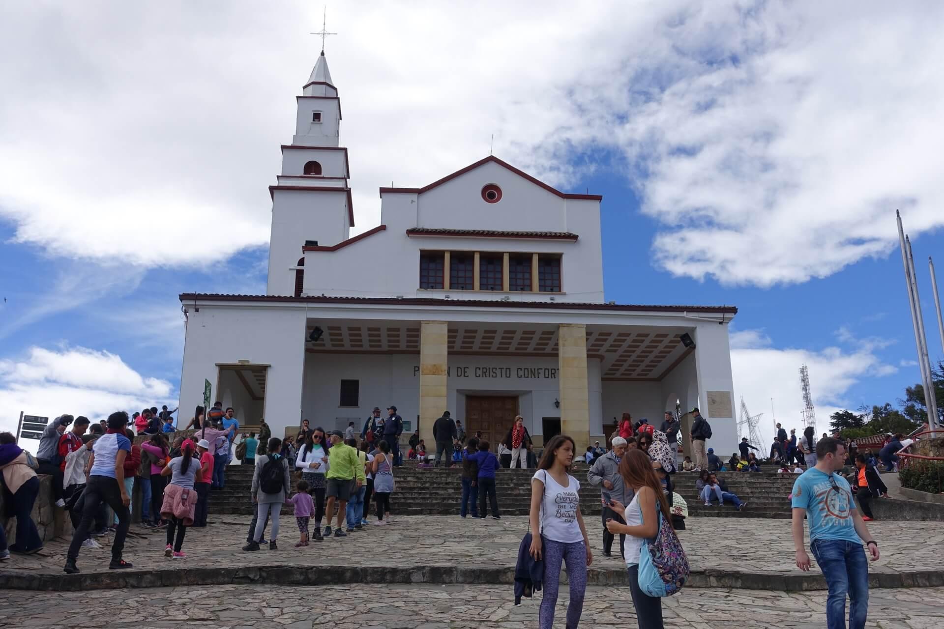 Bogota - klasztor na górze Monserrat