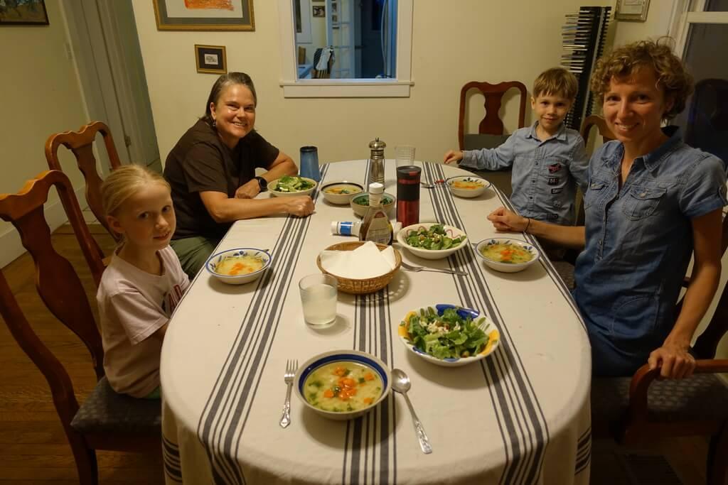 Polski obiad w USA