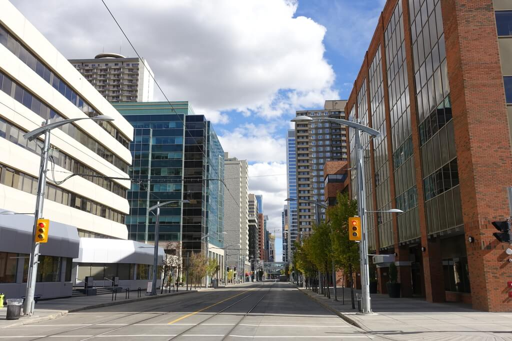 Calgary puste centrum
