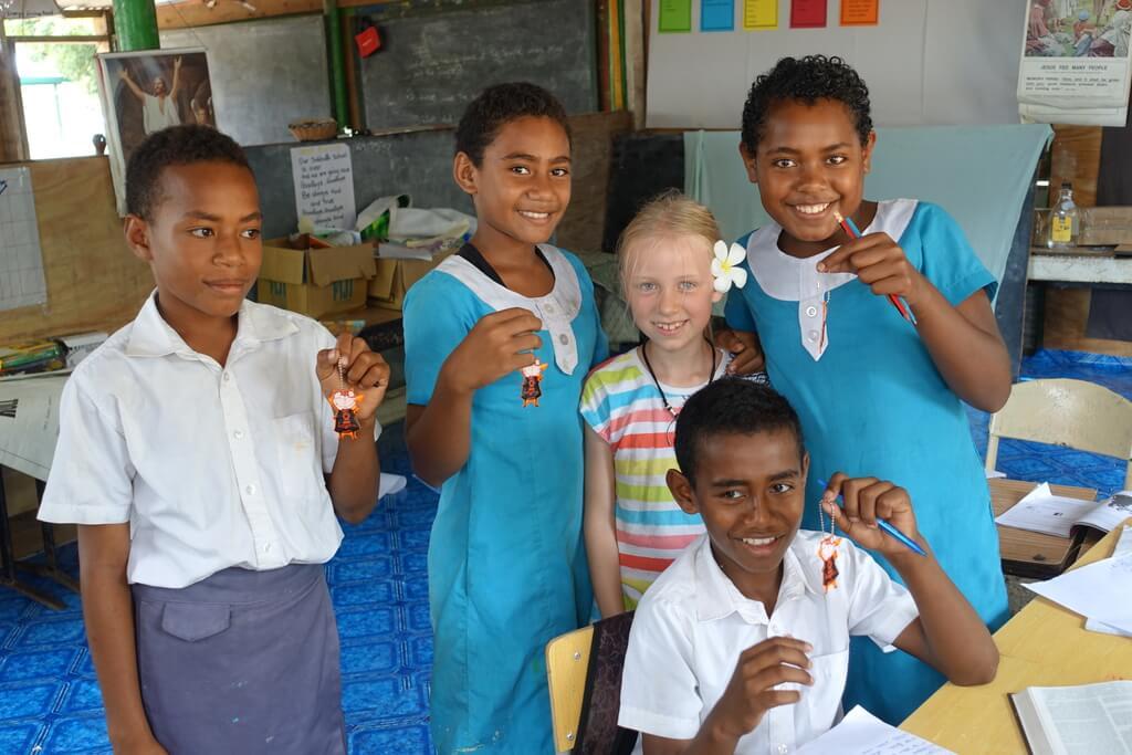 Prezenty dla dzieci na Fidżi