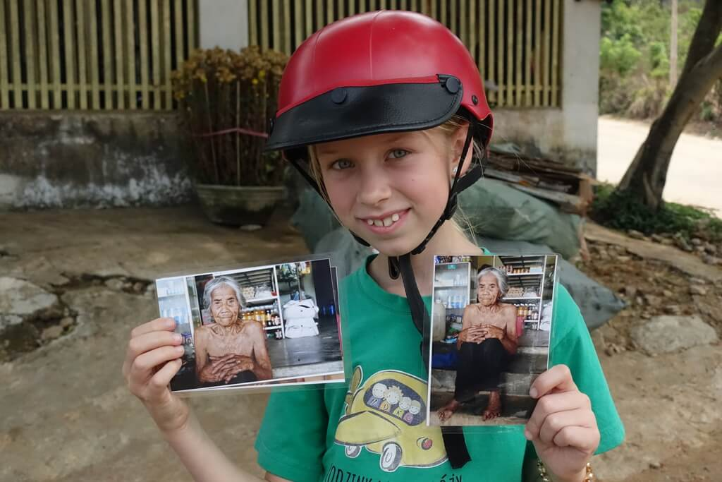 Zdjęcia 110 letniej Wietnamki