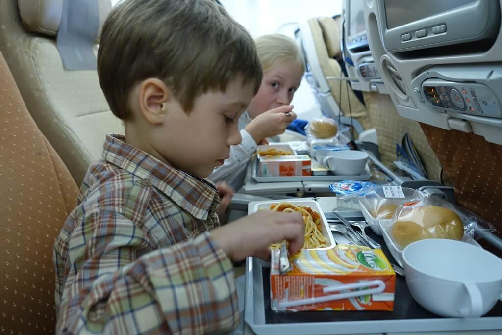 Jedzonko w Singapore Airlines jak zwykle nie zawodzi